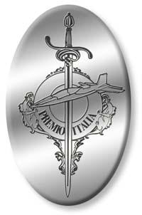 L'attuale logo del Premio Italia è stato disegnato dall'artista Eta Musciad