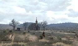 Un fotogramma del cortometraggio di Red Dead Redemption