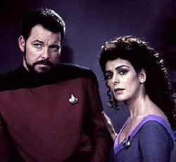 William Riker e Deanna Troi: li ritroveremo nell'episodio conclusivo di <i>Enterprise</i>