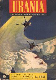 Un numero di <i>Urania Rivista</i>, primi anni Cinquanta.