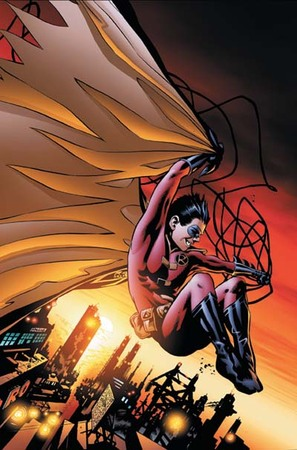 Robin è destinato a vivere nel mondo che gli è più congeniale.