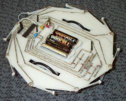 Un prototipo del RapRap, della larghezza di circa 20cm.