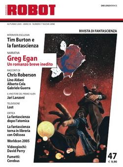 La copertina di Robot 47 è di Giuseppe Festino