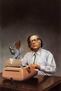 Art work su Isaac Asimov