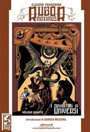 La copertina del quarto volume di Rubor Maximus
