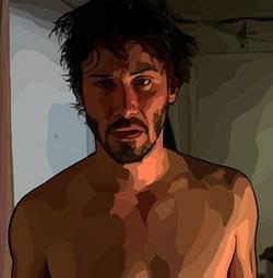 """Keanu Reeves in """"A Scanner Darkly"""""""