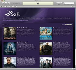 Sci Fi Channel su iTunes