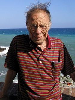 Robert Sheckley a Genova nel 2004