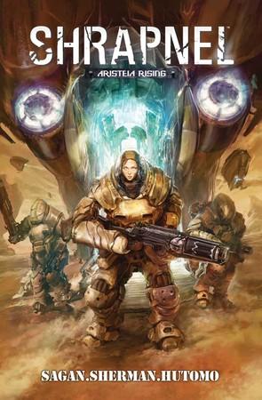 la copertina della miniserie in formato rilegato.