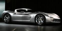 La concept car Corvette Stingray