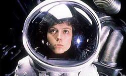Alien - l'attrice Sigourney Weaver