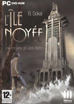 La copertina dell'edizione francese di Sinking Island
