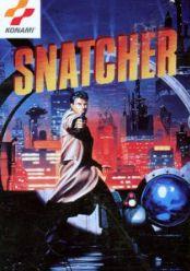 La copertina di Snatcher versione Sega Cd