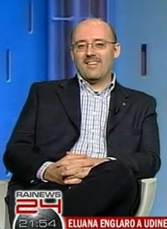 Silvio Sosio in una precedente apparizione su RaiNews