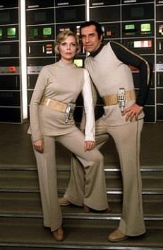 Martin Landau e Barbara Bain in <i>Spazio 1999</i>