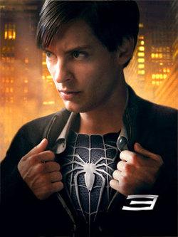 the dark spiderman?