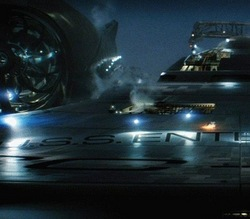 Una delle prime immagini dell'Enterprise
