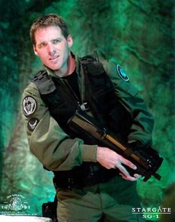 Ben Browder in <i>Stargate</i>
