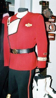L'uniforme dell'ammiraglio Kirk