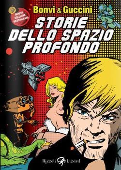 La copertina di Storie dello spazio profondo di Bonvi e Francesco Guccini