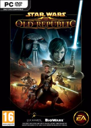 La copertina di Star Wars: The Old Republic