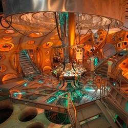 Uno degli interni del TARDIS