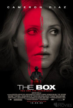 The Box con Cameron Diaz.