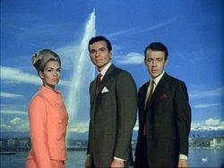 Da sinistra, i protagonisti della serie originaria: Alexandra Bastedo, Stuart Damon e William Gaunt