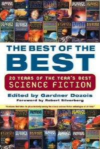 La copertina dell'antologia Best of the Best: 20 Years of the Year's Best Science Fiction