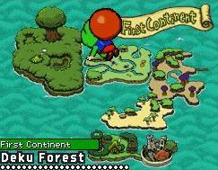 Tingle visiterà molti luoghi dell'universo di Zelda