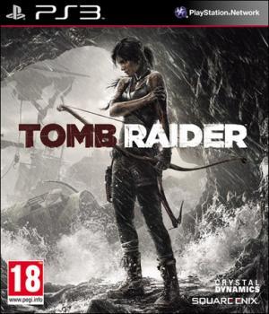 La copertina del nuovo Tomb Raider in versione Ps3