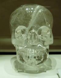 Il teschio di cristallo conservato al British Museum