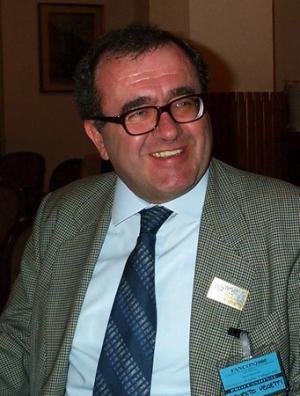 Ernesto Vegetti alla Fancon del 2000 (Courmayeur)
