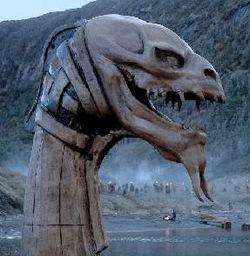 Buongiorno, lei sarebbe? Godzilla? Magari viene da Lochness?