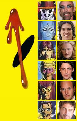 Il cast di <i>Watchmen</i>