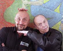 Roberto Quaglia e Ian Watson