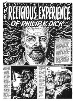 Prima pagina del fumetto pubblicato su Weirdo