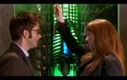 The Doctor e Donna Noble , una coppia esplosiva