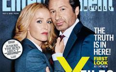 X-Files, ecco le prime foto