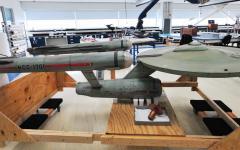 Un'Enterprise al museo