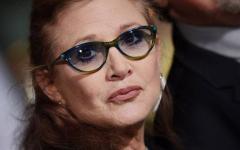 Carrie Fisher sta meglio dopo l'infarto di ieri