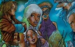Omegha di Enzo Troiano, tra graphic novel e gioco da tavolo