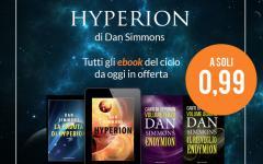 La saga di Hyperion di Dan Simmons, superscontata in ebook