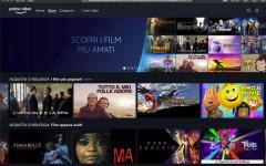 Amazon Prime Video apre vendita e noleggio