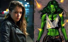Marvel's She-Hulk, Tatiana Maslany, Mark Ruffalo e un cattivo inaspettato