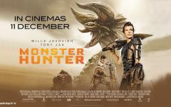 È arrivato nei nostri cinema Monster Hunter