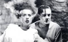 Halloween con la moglie di Frankenstein