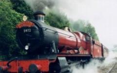 In fiamme l'Hogwarts Express