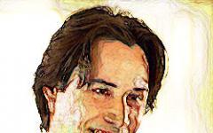 Keanu Reeves scruta nel buio
