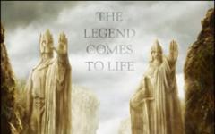Prima mondiale per il Signore degli Anelli